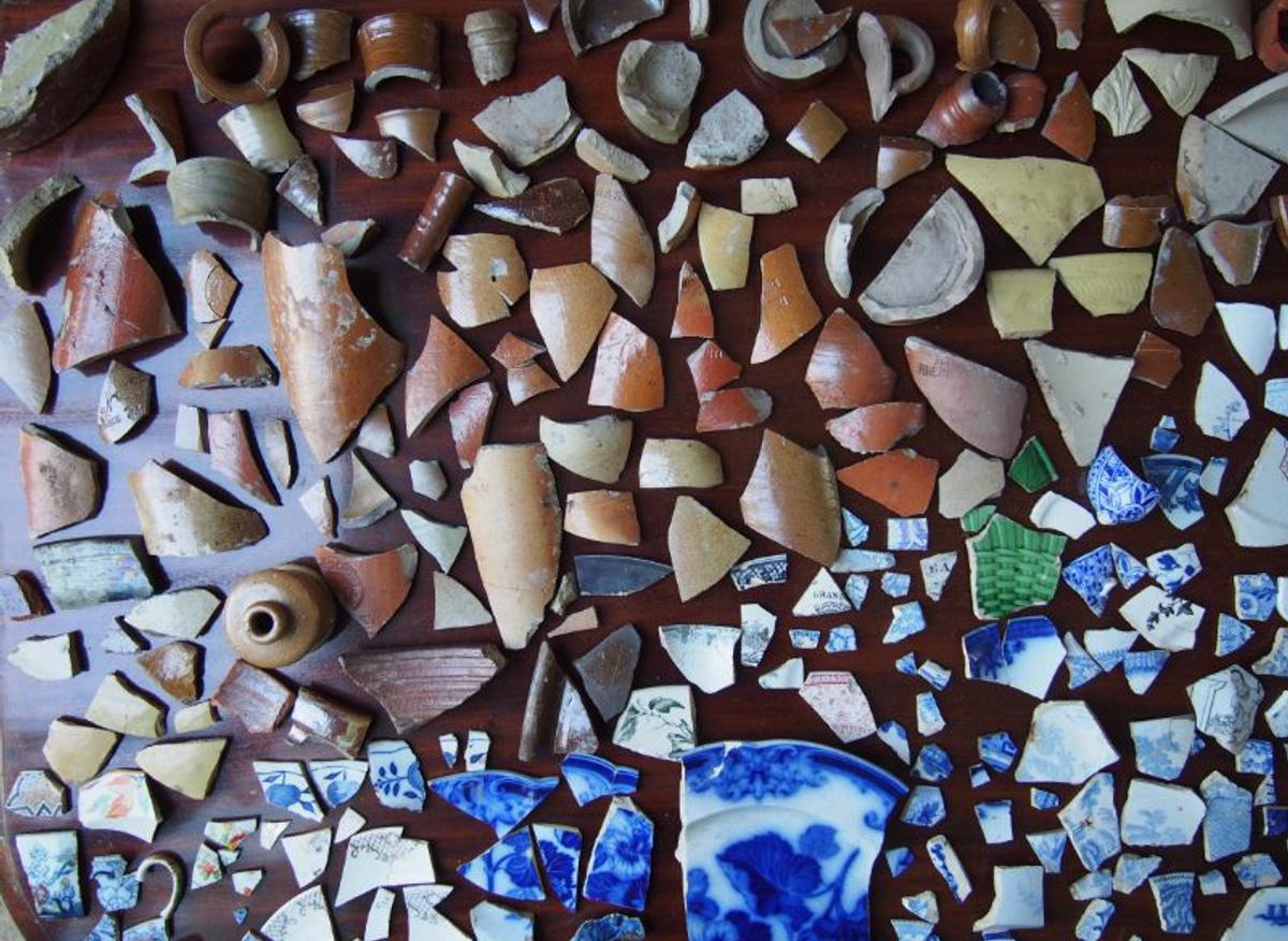 Ceramics (left)